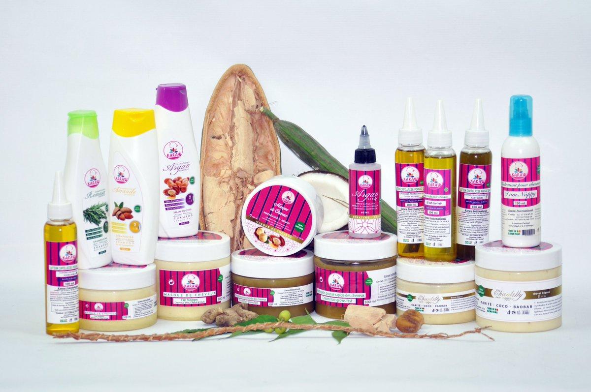 Les produits de la marque Karaw
