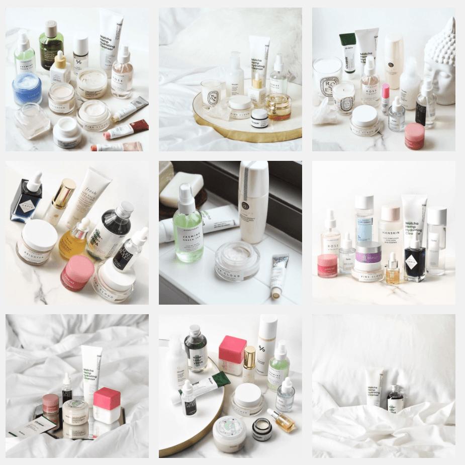 Produits de soins pour la peau