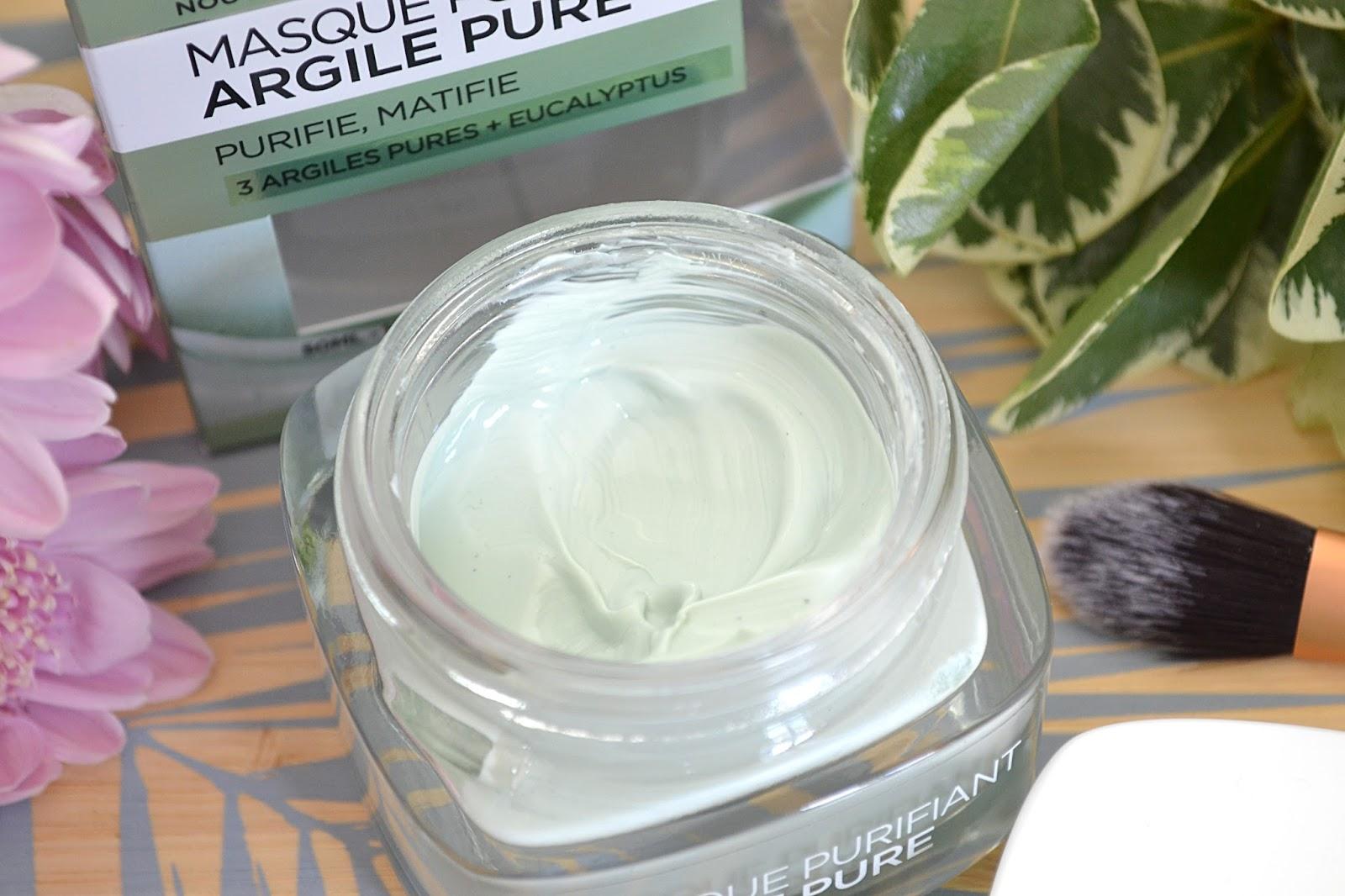 Masque purifiant argile pure de L'Oreal