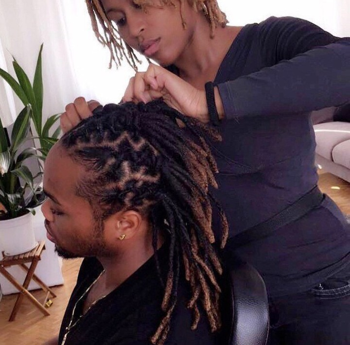 Soin chez le coiffeur