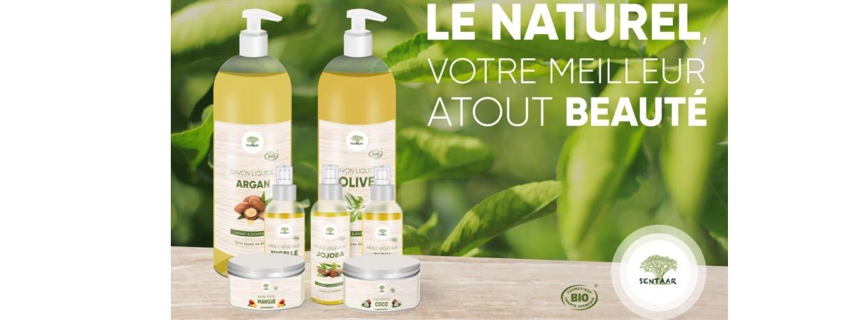 Produits Bio de la marque Sentaar