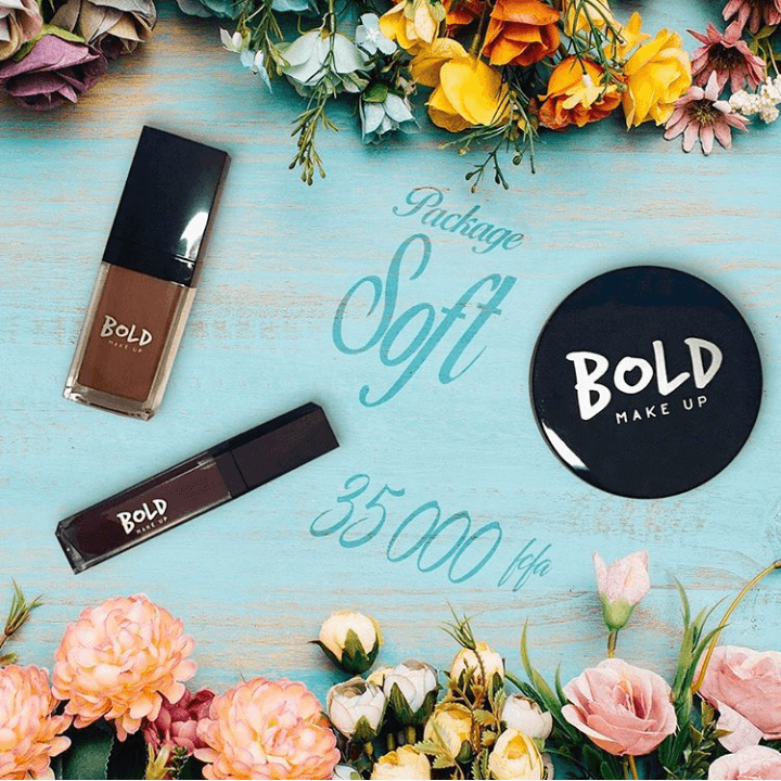 maquillage PRODUITS DE BEAUTE- BOLD MAKE UP- SETALMAA