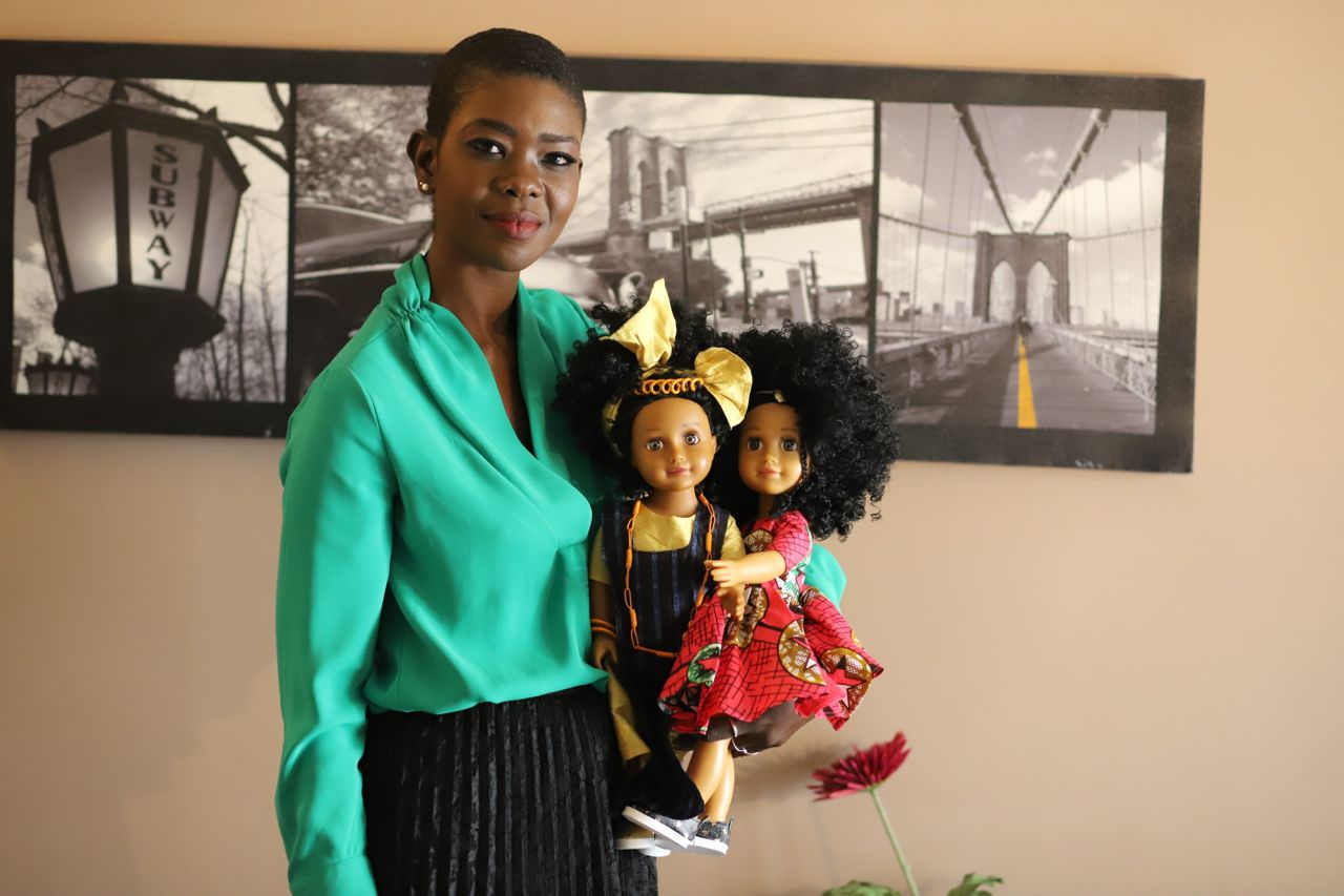 Rokhaya Diop et ses créations - Crédit photo : Setalmaa