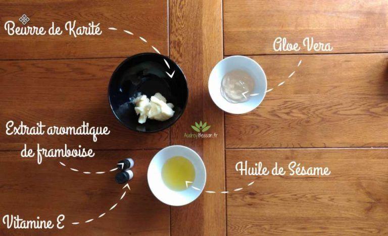 Le beurre de karité a une odeur forte et désagréable